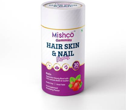 Hair, Skin and Nail, Mishco Hair Skin and Nail GummiesHair, Skin and Nail